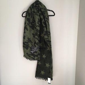 Steve Madden Camouflage Blanket Scarf